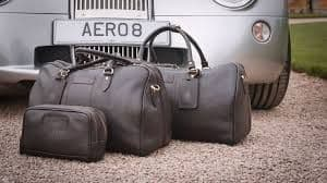 Charles - Large Leather Holdall